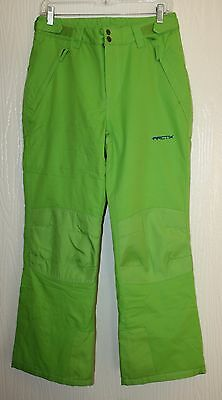 Arctix Youth Insulated Snow Pants Lime Size  Large (14-16)