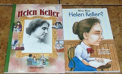 Helen Keller LOT OF 2 children's books