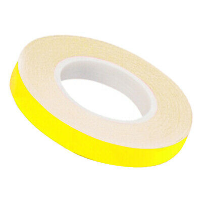 Oxford motorcycle motorbike Wheel Stripes Fluo Yellow & Applicator 7mm x 6m