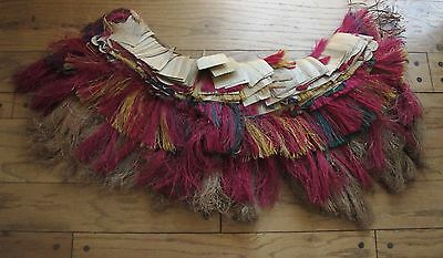 Trobriand Islands Ceremonial Dance Skirt  Banana Leaf, Pandanus & String