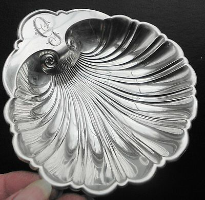 Gorham Sterling Silver Scallop Sea Shell Nut Candy Dish #455