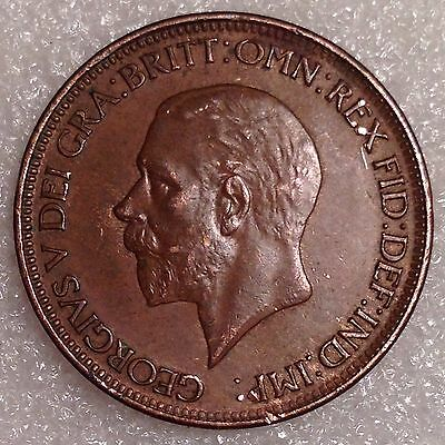 Very Nice 1/2 Penny 1928 UK (Great Britain)