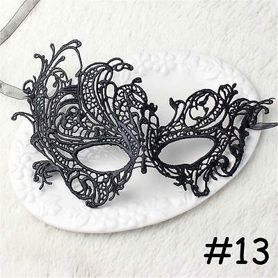 NEW Lace Eye Mask Venetian Masquerade Halloween Party Fancy Dress Costume #13 SP