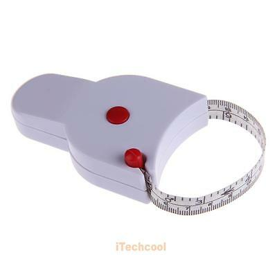 1.5m Body Fat Caliper Fitness Accurate Sewing Cloth Measuring Body Tape Ruler