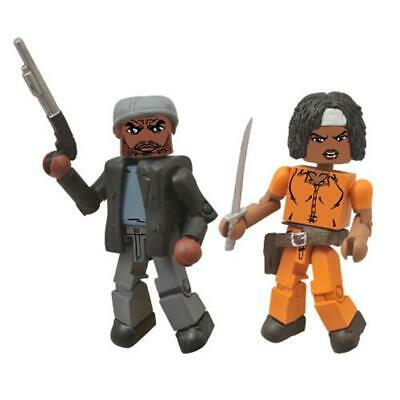 Walking Dead Minimates - Tyreese and Prison Michonne