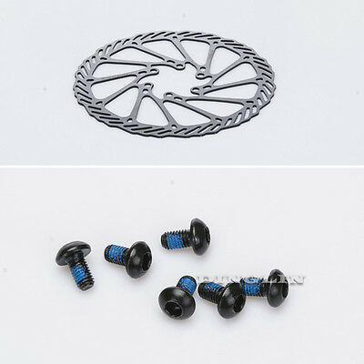 Stainless Steel MTB Mountain Bicicletta dischi Freno Brake Rotor 160mm 6 Bolts