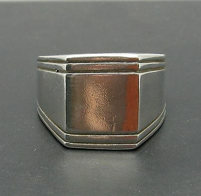 Sterling Silver Ring Classic Men 925 Empress