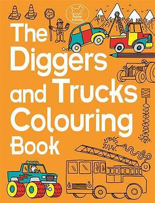 The Diggers and Trucks Colouring Book (Buster Ac, Dickason, Chris, New