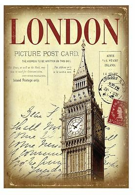 London Picture Postcard Hardback Lined A6 Notebook By Martin Wiscombe