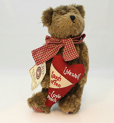 Boyds Bears Plush 2006 Happy Livewell - Thinking of Ya Series 903073-DT