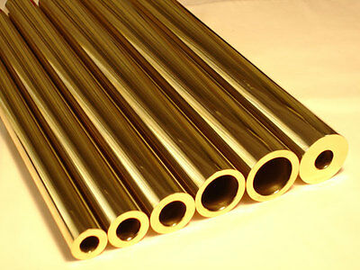 Albion Alloys MBT06 -3 x 0.6mm OD x 0.4mm ID x 305mm Long Micro Round Brass Tube