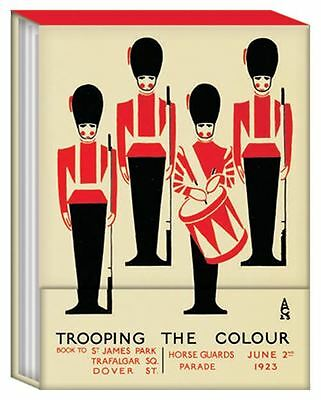 Trooping The Colour Mini Magnetic Notebook