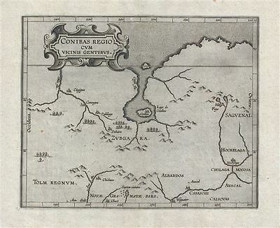 1597 Wytfiet Map of Northern Canada (first specific map of central Canada)