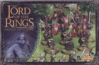 LORD OF THE RINGS - Khandish Warriors LOTR 09-32 Citadel GAMES WORKSHOP
