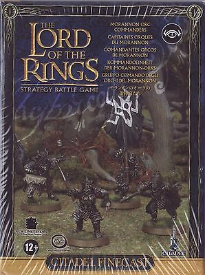 LORD OF THE RINGS - Morannon Orc Commanders LOTR 08-46 Citadel GAMES WORKSHOP