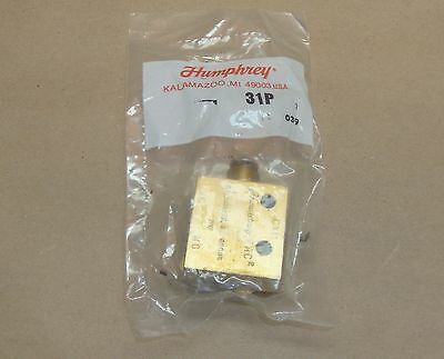 NEW Humphrey 31P TAC Air Pneumatic Valve