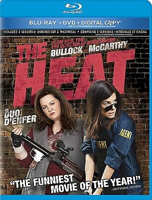 The Heat (Blu-Ray/dvd/digital Copy, 2013, 2-Disc Set)