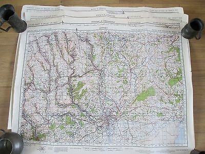 Vintage Lot Of 5 Ww2 Second War Revision Maps 102 103 104 110 111 Wwii