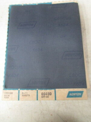 Norton 9 x 11 Crocus Cloth K624 * Box of 50 *