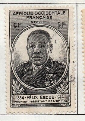 French West Africa 1944-45 Early Issue Fine Used 2F. 140857