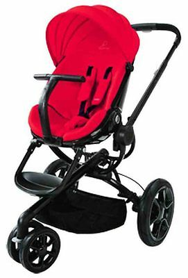 Quinny Moodd Auto Unfold Single Baby Stroller Red Envy Mood NEW
