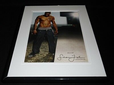 Nelly 2008 Sean John Underwear 11x14 Framed ORIGINAL Vintage Advertisement