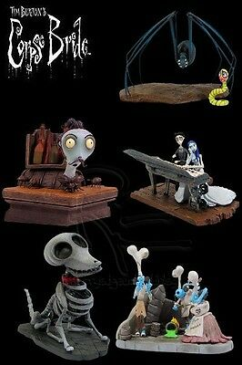 Gentle Giant Corpse Bride Bust Ups Series 2 Set of 5 New