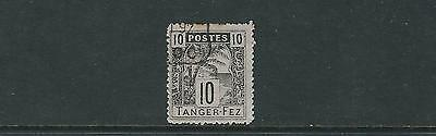MOROCCO circa 1890s TANGER to FEZ LOCAL POST F/VF USED