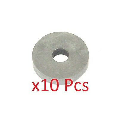 Pack of 10 Argento M6 Rondelle Di Gomma 6mm x 4mm x 20mm UK KART STORE