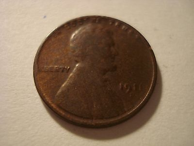 Nice 1911-D  Lincoln Wheat Cent