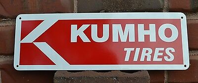 KUMHO TIRES SIGN Logo Tire Shop Mechanic Store Service Center Garage  AD 7 day