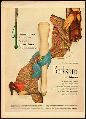 1951 vintage ad for Berkshire Stockings  -051212