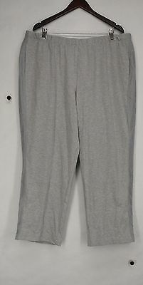Alfred Dunner Plus Size Pants 24W Pull On Stretch Waist Gray NEW