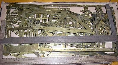1880s McDowell Measuring/Pattern Marking Garment Making System, 2 Sets Plus More