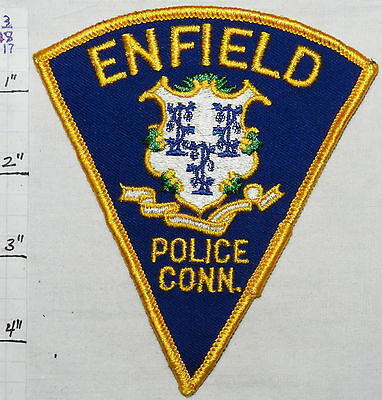 Connecticut, Enfield Police Dept Vintage Patch