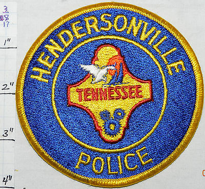 Tennessee, Hendersonville Police Dept Patch