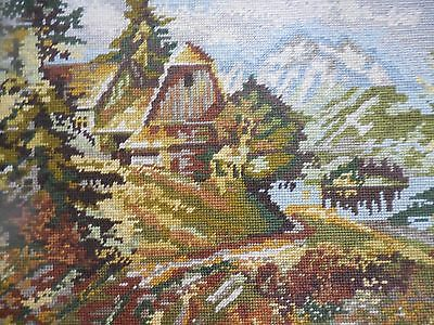 Tapestry Craft Picture Completed Collection D'art European Scene