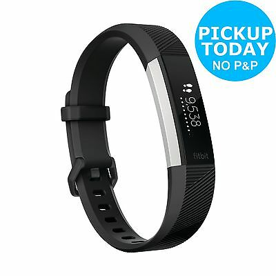Fitbit Alta HR Heart Rate Fitness Band Black - Large. From Argos on ebay
