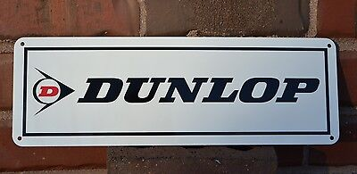 DUNLOP Tires Shop SIGN Racing Tire Service Center Parts Advertising Mechanic 7da