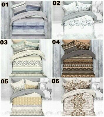 Bedspread Light Weight Doona Quilt Comforter King Single/Queen Size Bedding New