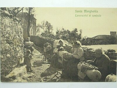 Costumes Folklore Italy-Liguria-S.margherita-Weaver-O9A-S52886