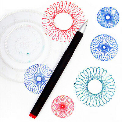 Spirograph Drawing Toys Set 28 Accessories Creative Drawing For Children
