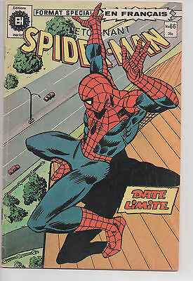 SPIDER-MAN #66 french comic français EDITIONS HERITAGE