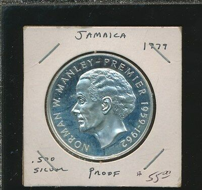 Jamaica  $5.00 Silver Large Crown 1979 Proof