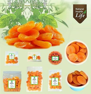 (Size 2) Large Dried Apricots - Juicy and Tender - Premium Quality - 100g to 1kg