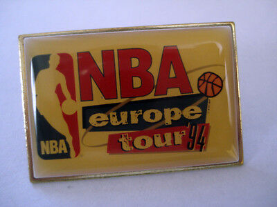 PINS RARE VINTAGE USA NBA EUROPE TOUR 1994 BASKET BALL ETATS UNIS wxc 1