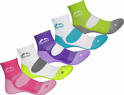 More Mile London (5 Pack) Ladies Running Socks