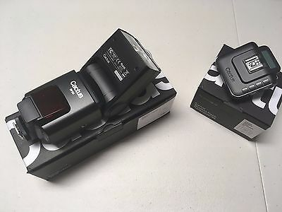 Cactus Wireless Flash Transceiver V6 Trigger with RF60 Flash Canon Nikon Pentax