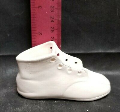 Ceramic Bisque Baby Shoe Ready to Paint