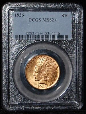 Pcgs Ms62+ 1926 $10 Gold Indian (Eagle)